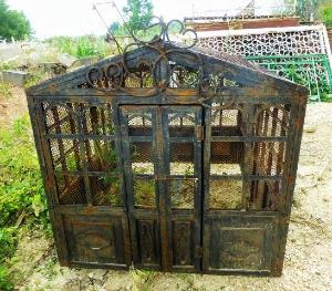 BIG IRON BIRDCAGE. PERIOD XXEME CENTURY.