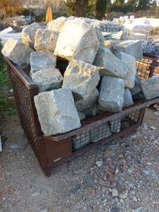 RARE SET OF STONE FROM THE ANCIENT PORT OF MARSEILLE