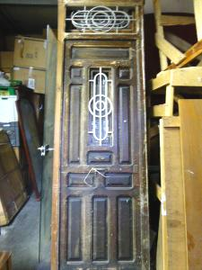 SET OF 5 CARVED ART DECO DOORS