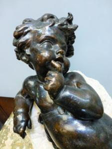 ANTIQUES BRONZES, LIGHTINGS  AND DECORATION