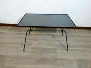 FRENCH COFFEE TABLE AWARDED TO JACQUES ADNET. 1950s